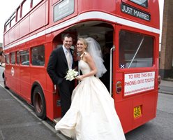 cheap wedding bus