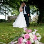 cheap wedding photographs at bromley church after a register office ceremony                   church