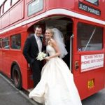 cheap wedding bus at bromley register office